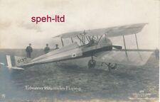 Originale Sanke Karte /  Erbeutetes französisches Flugzeug