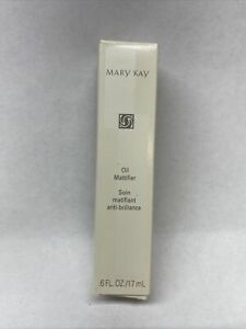 New In Box Mary Kay Oil Mattifier 0.6 oz Tube With Silver Cap