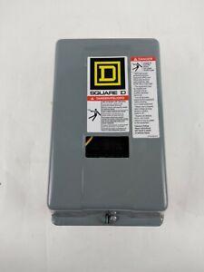 Square D Lighting Contactor 30 Amp 8903 Type S Enclosure