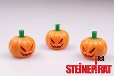 LEGO® 3x 20695pb01 ***NEU*** Kürbiskopf / Pumpkin Kürbis