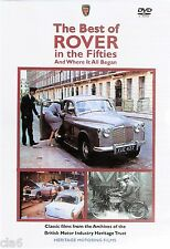 Best of Rover in the 50s DVD - Rover 90 P4 & P5 * NEW