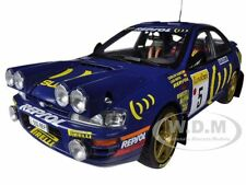 SUBARU IMPREZA 555 #5 WINNER RALLY MONTE CARLO 1995 1/18 SUNSTAR 5503