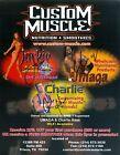 UMAGA CHARLIE HAAS & JACKIE GAYDA WWE SIGNED AUTOGRAPH 8X10 PHOTO