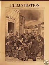 L'ILLUSTRATION 1892 N 2579  L'ERUPTION DE L'ETNA