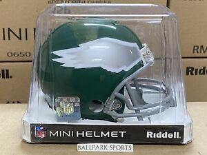 PHILADELPHIA EAGLES (1974-95 Throwback) Riddell VSR4 Mini Helmet
