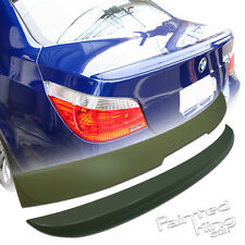 PKUK BMW E60 A Window Roof Spoiler & M5 Boot Trunk Spoiler ABS Unpainted