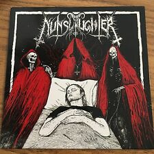 """Nunslaughter Unburied """"Split 7"""" (Limited Edition Red) Only 100 Made"""