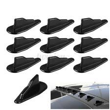 10*Universal EVO-Style Roof Shark Fins Spoiler Wing Kit Vortex Generator