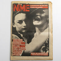 NME magazine 1 May 1982 Boy George cover Clash Madness Miles Davis