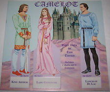 Camelot By Tom Tierney Paper Doll Book 1996 B. Shackman New Uncut