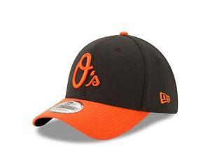 Baltimore Orioles Black New Era Road Alt. Team Classic  39THIRTY Flex Hat