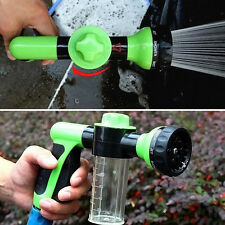 Portable Multifunction Auto Car Home Foam Clean Pipe Washer Water Spray Gun Pop