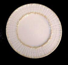 Beautiful Belleek Black Mark Limpet Yellow Bread Plate