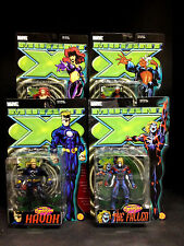 TOYBIZ PREVIEWS EXCLUSIVE X-MEN: MUTANT X FIGURE SET HAVOK BLOODSTORM FALLEN D52