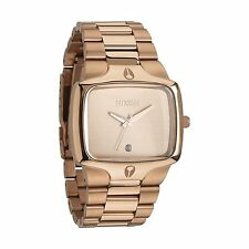 Nixon The Player Rose Gold Tone Mens Watch A140-897