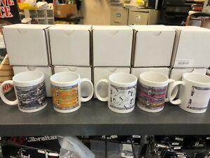 LIDC Vintage drum set coffee mugs