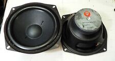 PAIR AUDAX POLYDAX HIF17J  6 1/2 INCH WOOFER   8 OHM  new old stock
