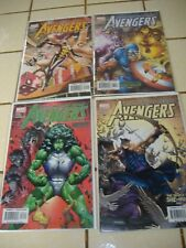 4-Lot 2003 Earth's Mightiest Heroes The Avengers # 71 72 73 74 * geoff johns
