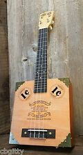 """The Vaudeville Cigar Box Ukulele - featuring """"1¢"""" Sound Holes and Vintage Coins"""