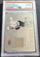 2005-06 Ultra Difference Makers Sidney Crosby Rookie PSA 10 Low Population RC