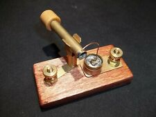 Crystal Radio Detector Iron Pyrite Vintage Brass Steampunk