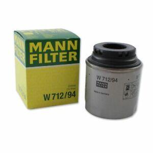 Mann Oil Filter fits VW GOLF VI 5K1, Mk6 1.4 TSI 1.2 TSI
