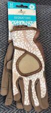 Digz Women's Garden Glove High Performance Signature Brown Size Medium -- NEW!!