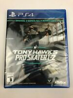 New & Sealed Tony Hawk's Pro Skater 1 + 2 Deluxe Edition for PS4 PlayStation 4