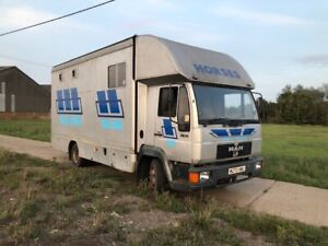 MAN 8.153 1995 HORSEBOX **reduced for quick sale **