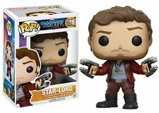 Guardians Of The Galaxy Vol 2 - Funko Pop 198 - Star Lord - Original Figure Pvc