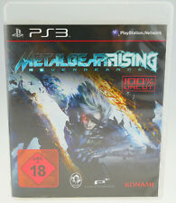 Metal Gear Rising Revengeance - komplett in OVP Sony Playstation 3 PS3 sehr gut