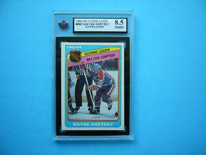1984/85 O-PEE-CHEE NHL HOCKEY CARD #380 WAYNE GRETZKY LDR KSA 8.5 NM/MT+ OPC