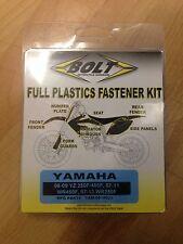 YAMAHA  YZF450  YZF 450  YZ450 F  2006 - 2009  PLASTICS FASTENER NUT BOLT KIT