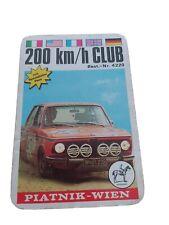 Quartett - 200 km / h Club  / Piatnik Spielkarten Nr. 4220