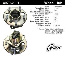 Wheel Bearing and Hub Assembly-C-TEK Hubs Rear Centric 407.62001E