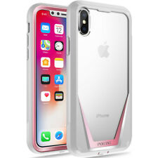 For Apple iPhone X Case Poetic【Guardian】Built-in-Screen Protector Bumper 4 Color