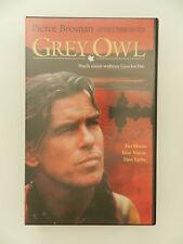 VHS Video Kassette Grey Owl Pierce Brosnan
