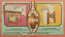 1973 SEAL-A-MEAL ALLOVER ADVERTISING MONTGOMERY WARD CO BETHPAGE NY CANCEL