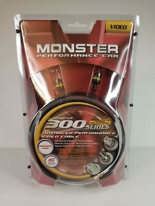 Monster Cable Performance Car V300 Series R-6M - 6 Meters (19.68 ft.) - NEW