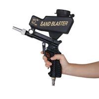 "1/4"" Nozzle Sandblasting Gun Pneumatic Sand Blasting Machine Hopper for Removing"