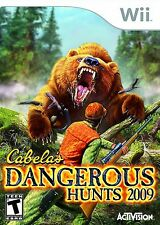 CABELA'S DANGEROUS HUNTS 2009 Wii