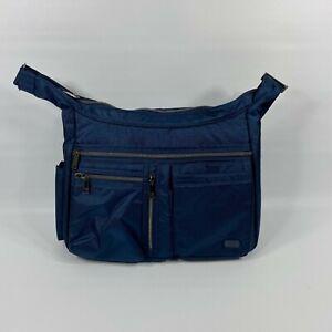 LUG  Double Dutch Bag Crossbody Navy
