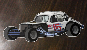 Bugs Stevens - #15 Modified - Custom Art sticker