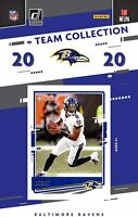 2020 Panini Football Baltimore Ravens Team Set 11 Cards W/Drafted Rookie