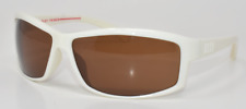 """Mosley Tribes """"Nomad"""" White / Light Brown VFX Sunglasses"""