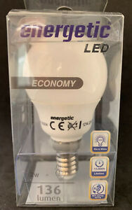 Energetic LED Reflector E14 2W=15w SES Energy Saving Spot Light Bulb Warm White