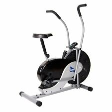 Body Rider BRF700 Fan Upright Exercise Bike, Silver