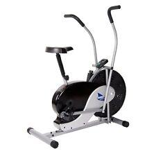 Body Rider BRF700 Fan Upright Exercise Bike, Silver
