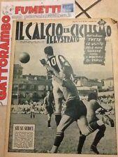 Il Calcio E Ciclismo Illustrato N.36 Anno 1952 Sei Su Sedici