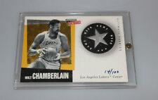 1999-00 ULTIMATE Victory Wilt Chamberlain ULTIMATE fabrics GAME WORN JERSEY
